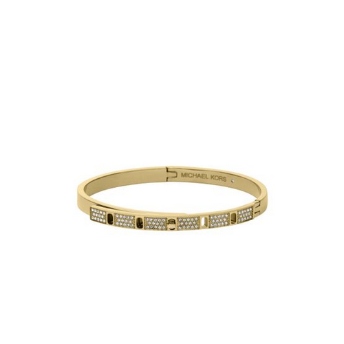 MICHAEL KORS Pavé Gold-Tone Bangle