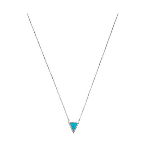 MICHAEL KORS Pavé Triangle Necklace