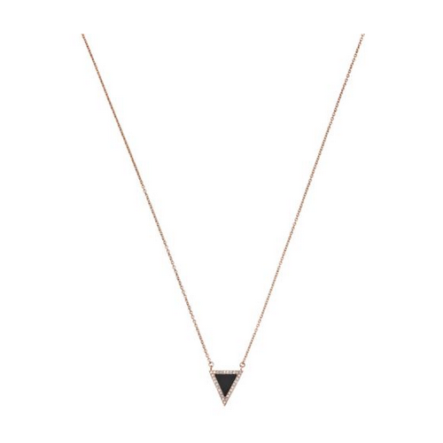 MICHAEL KORS Triangle Pendant Necklace