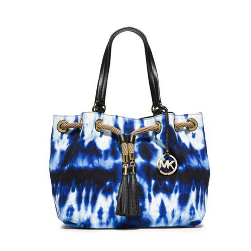 MICHAEL MICHAEL KORS Marina Large Tie-Dye Canvas Tote
