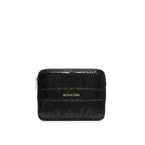 MICHAEL MICHAEL KORS Embossed-Leather Tablet Case