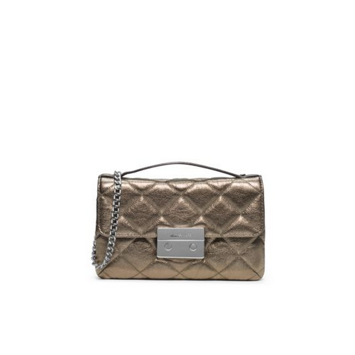 MICHAEL MICHAEL KORS Sloan Small Quilted-Leather Messenger