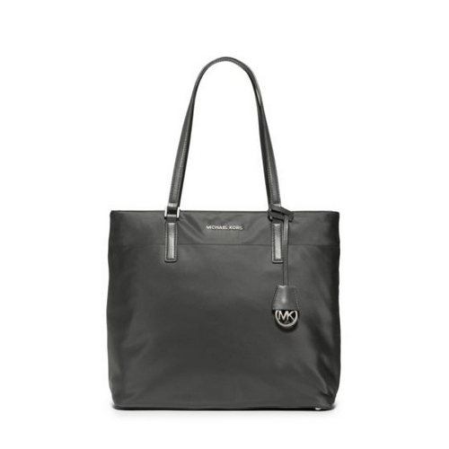MICHAEL MICHAEL KORS Morgan Large Nylon Tote GRAPHITE