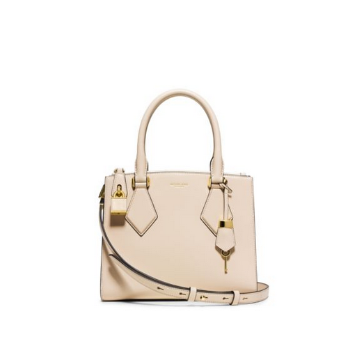 MICHAEL MICHAEL KORS Casey Small Leather Satchel