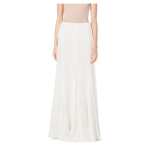 MICHAEL KORS COLLECTION Linen-Gauze Maxi Skirt IVORY