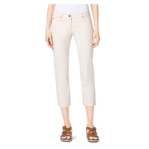 MICHAEL KORS COLLECTION Cropped Jeans MUSLIN