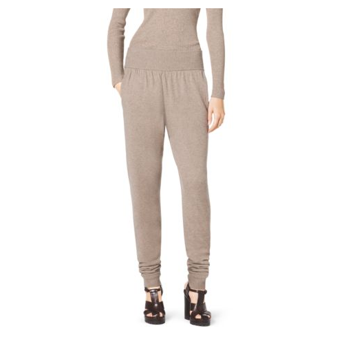 MICHAEL KORS COLLECTION Cashmere Sweatpants TAUPE