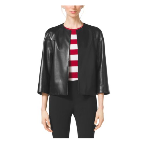 MICHAEL KORS COLLECTION Plongé Jacket BLACK