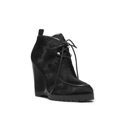 MICHAEL MICHAEL KORS Beth Hair Calf Ankle Boot BLACK