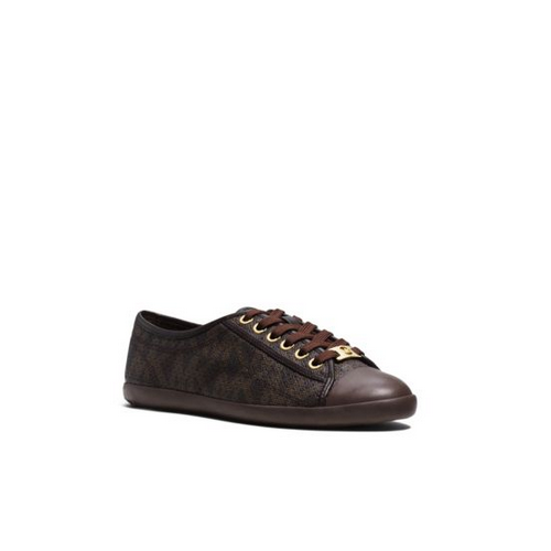 MICHAEL MICHAEL KORS Kristy Perforated Logo Sneaker BROWN