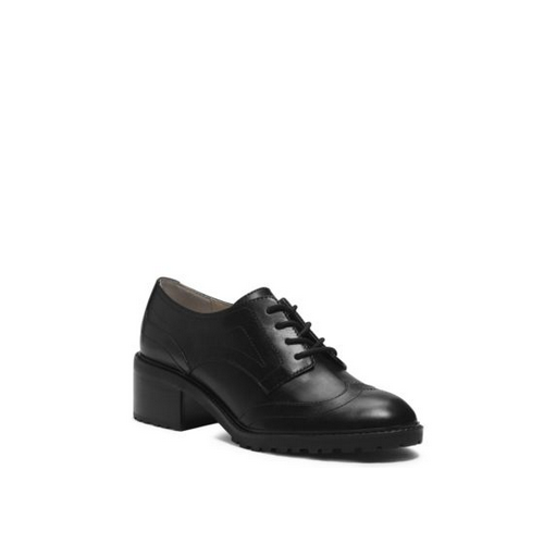 MICHAEL MICHAEL KORS Edison Leather Brogue BLACK