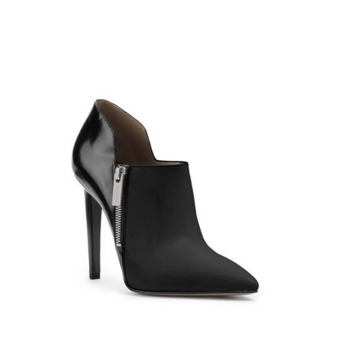 MICHAEL MICHAEL KORS Samara Leather Ankle Boot BLACK