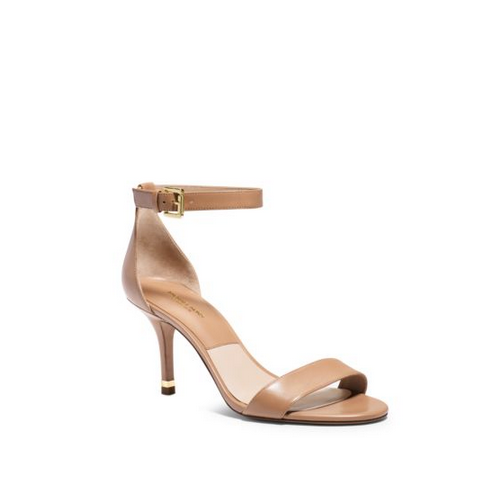 MICHAEL MICHAEL KORS Suri Leather Sandal TOFFEE