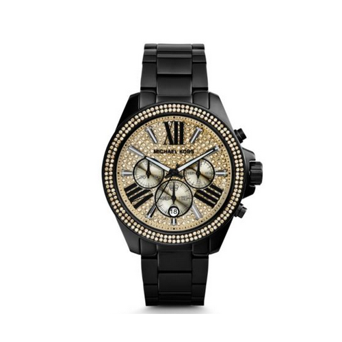 MICHAEL KORS Wren Pavé Black Watch