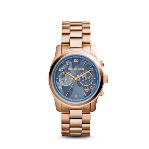 MICHAEL KORS Watch Hunger Stop Runway Rose Gold-Tone Watch