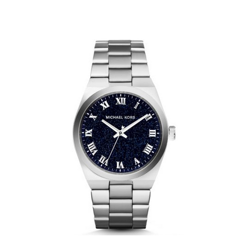 MICHAEL KORS Channing Moonstone And Silver-Tone Watch