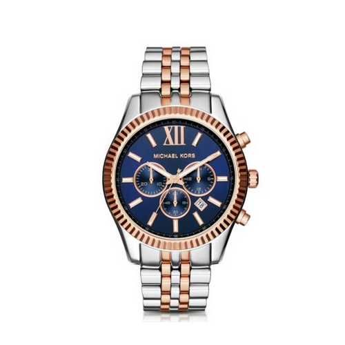 MICHAEL KORS Lexington Two-Tone Watch