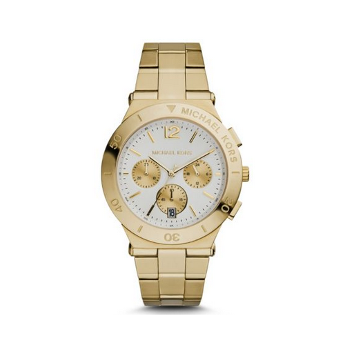 MICHAEL KORS Wyatt Gold-Tone Watch