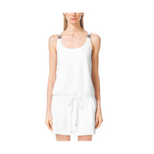 MICHAEL MICHAEL KORS Embellished Cover-Up WHITE