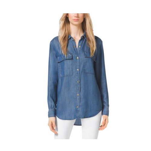 MICHAEL MICHAEL KORS Denim Shirt LIGHT CADET WASH